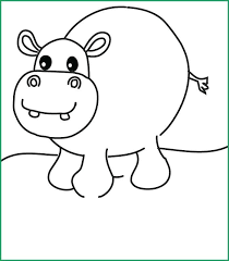 Hippo Coloring Pages Hippo Coloring Pages Unique Coloring