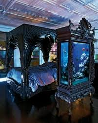 ... Gothic bedroom should be opulent but without precious colors View in  gallery ...