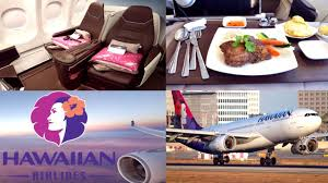 Hawaiian Airlines A330 First Class Business Review