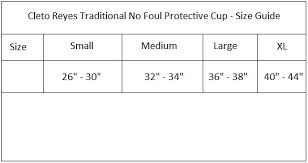 Details About Cleto Reyes Traditional No Foul Padded Boxing Protective Cup Black
