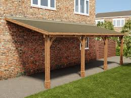 Wooden Carport Plans Howtospecialist How To Build Step Also How To
