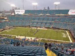 Tiaa Bank Field Section 434 Row Aa Home Of Jacksonville