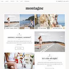 Blogger Template Montagne Blogger Templates Wordpress Themes