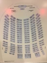 32 A Seating Chart In The General Assembly Hall At United