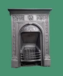old cast iron fireplace image
