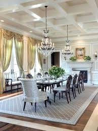 large area rug under a dining room table rugs round ideas shape