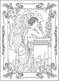 Anime Fallen Angel Coloring Pages 15 Linearts For Free On Throughout