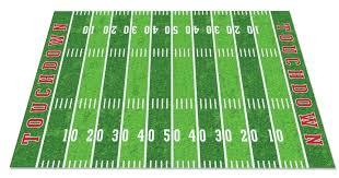 football area rug field cowboys