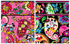 Disney Patterns Gorgeous DisneyInspired Handbags And Accessories By Vera Bradley To Bloom