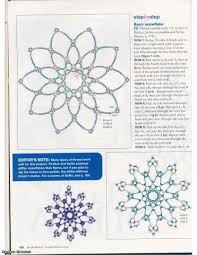 Crochet Decoration Patterns Free Beaded Christmas Ornament Patterns Beaded Snowflake Bead