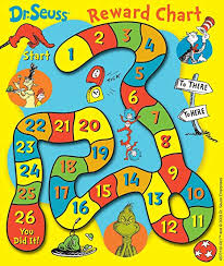 Dr Seuss Chart Eureka Back To School Dr Seuss Mini Reward Charts For Kids With Stickers 736pc 5 W X 6 H