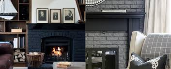 painted fireplace ideas