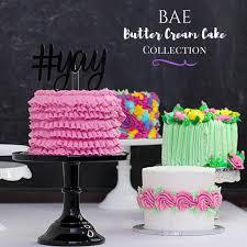 bae er cream cakes