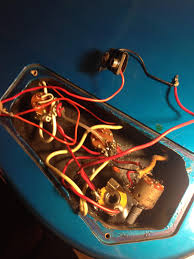 botched emg pj5 upgrade how to correct salvage talkbass com forgot to mention that the tech apparently couldn t reach the side output jack the wire on hand so he drilled a hole in the face of the instrument