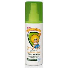 <b>Спрей от комаров</b> детский защитный «Мое солнышко» против ...