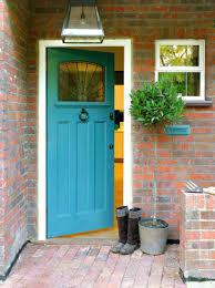 grey front doorFront Doors  Front Door Ideas View In Gallery Bright Blue Painted