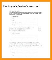 Sale Of Car Contract Private Car Sale Contract Template Car Sales Agreement Sale Payment