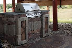 Cinder Block Outdoor Kitchen Outdoor Kitchens Project Type Watkins Concrete Block