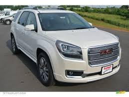 gmc acadia 2015 white. Contemporary 2015 White Diamond Tricoat GMC Acadia Throughout Gmc 2015