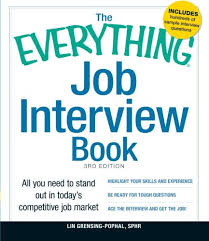 Job Interview Books The Everything Job Interview Book All You Need To Stand Out In