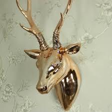 copper stag head wall decoration copper stag head wall decoration
