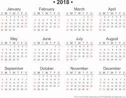Calendar Template Microsoft Word Luxury 2018 Calendar Word