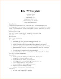 example of a cv for a part time job sample customer service resume example of a cv for a part time job poor cv example 1 cv masterclass job