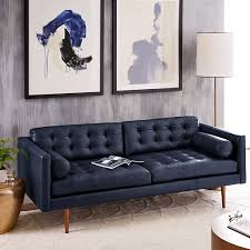 Modern Mid Century Leather Sofa Scroll To Previous Item In Innovation Ideas
