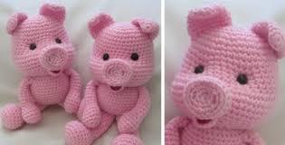 Crochet Pig Pattern Free