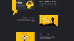 Ppt Template Cool Cool Dark Brush Powerpoint Template