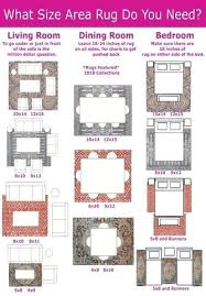 living room rug sizes what size