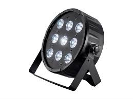 stage right by mono 10 watt x 9 led flat par stage light rgbw