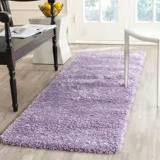 nobby purple round rug 2 plush pile lilac california s safavieh