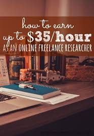 how to make money as a lance researcher wonder single if you re looking to supplement your income you can earn up to 35