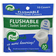 seatease toilet seat cover disposable image