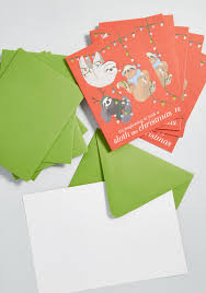 Christmas Notecard Paper Source Its Beginning To Look A Sloth Like Christmas Notecard