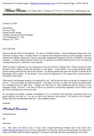 Line Chef Cover Letter Lovely Chef Cover Letter Examples 89 With