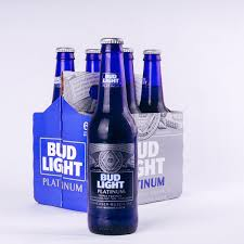 Bud Light Platinum 2018 Bud Light Platinum Bottle