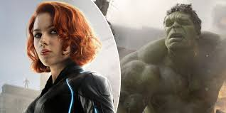 scarlett johansson black widow mark ruffalo the incredible hulk avengers