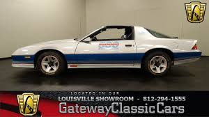 1982 Chevrolet Camaro Indy Pace Car - Louisville Showroom - Stock ...