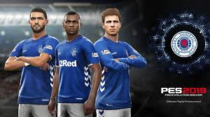 Rangers join the list of licensed teams for PES 2019