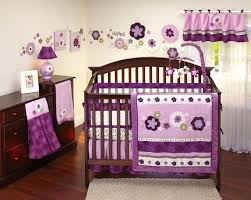 decoration purple baby girl nursery bedding cute ideas room decoration with carters set enchanting pink