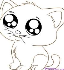 Small Picture Cute Kitten Coloring Pages jacbme