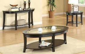 round espresso coffee table dark espresso coffee console end table set w glass inlay pertaining to round espresso coffee table
