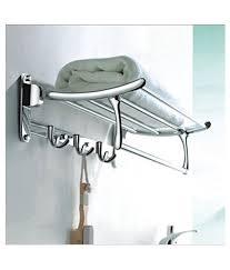 Buy Handy bathroom accessories folding towel rack Stainless Steel ...