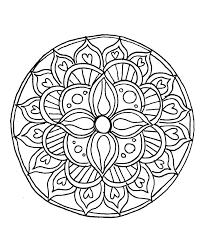 original simple mandalas to color y8455 easy mandala coloring pages mandalas coloring pages mandala coloring easy