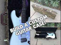 picture of custom guitar case diy