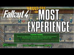 Fallout 4 Level Up Chart Fallout 4 Best Build To Gain Exp Level Up For What We Know