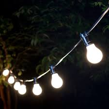 weatherproof festoon lighting 50 black bulb holders