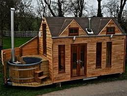 Small Picture Glamper tiny houses built with hot tubs for luxurious vacationing